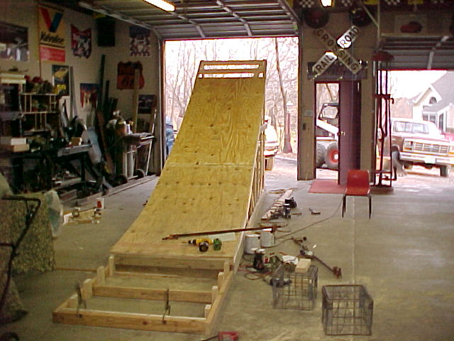 How to build your own Wooden FMX Ramp!